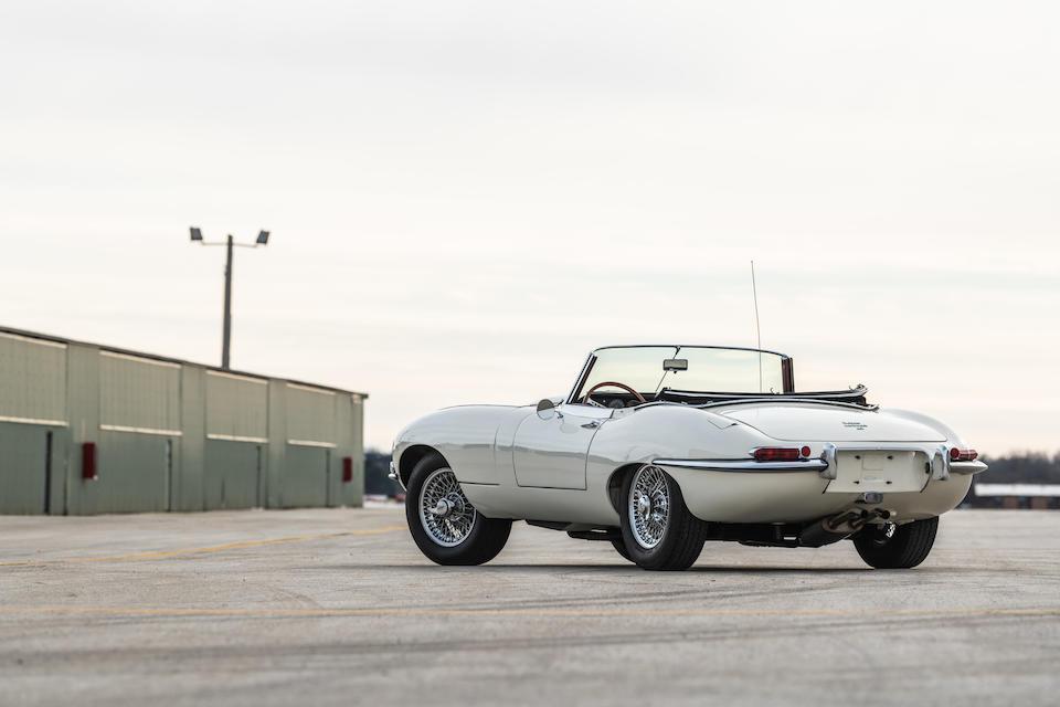 <b>1965 Jaguar E-Type Series 1 4.2-Liter Roadster</b><br /> Chassis no. 1E12068<br />Engine no. 7E2770-9