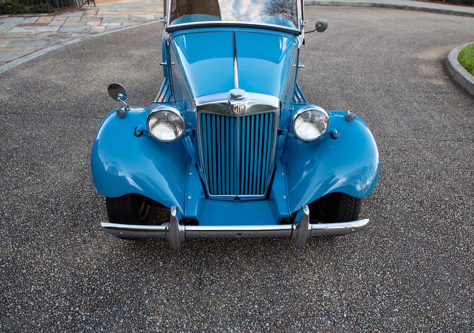 <b>1953 MG TD Roadster</b><br />Chassis no. TD-22418<br />Engine no. XPAG/TD2/22853