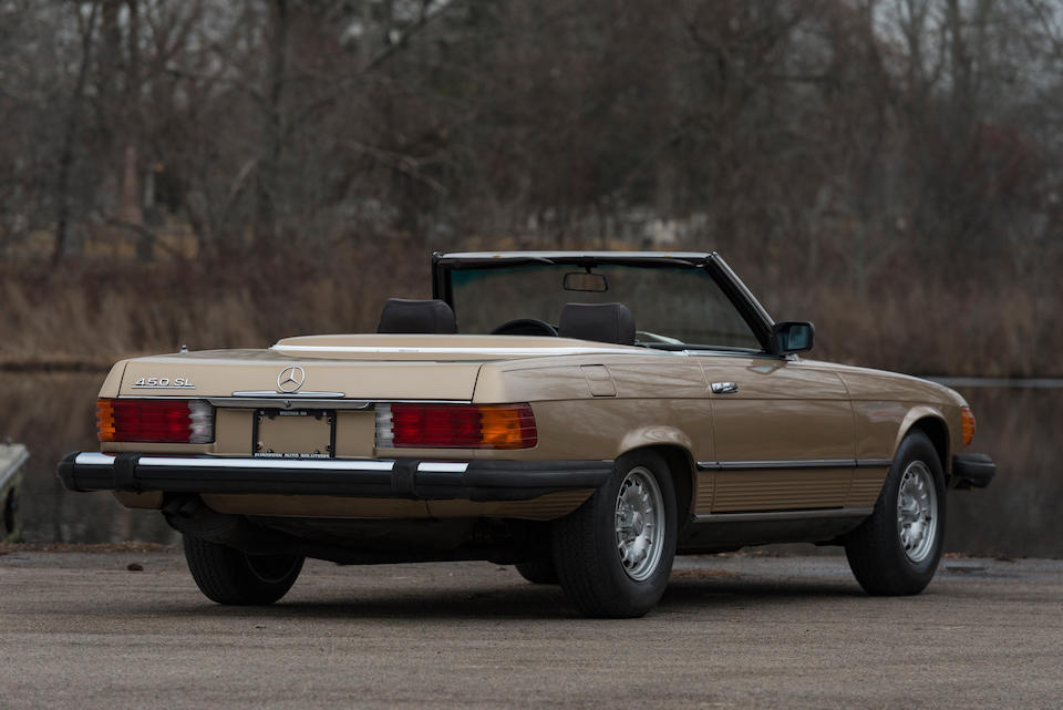 <b>1980 Mercedes-Benz 450SL</b><br />Chassis no. 10704412065097<br />Engine no. 117985-12-056822