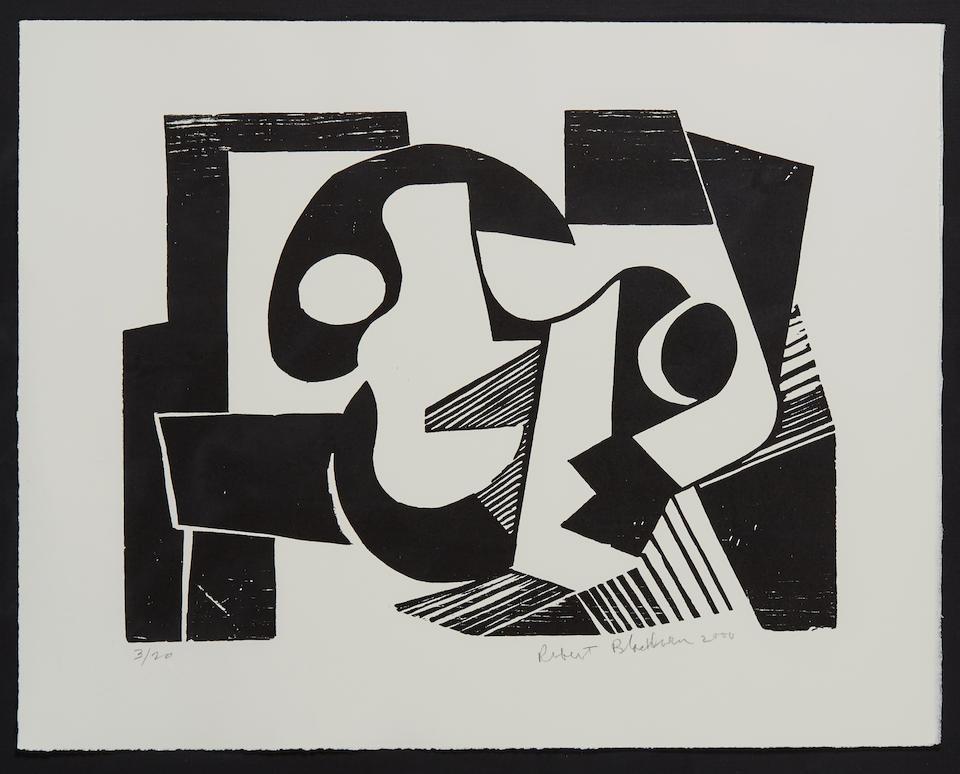 Robert Blackburn (1920-2003); Abstract Composition;