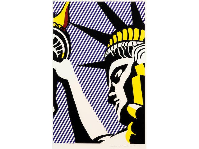 Roy Lichtenstein (1923-1997); I Love Liberty;