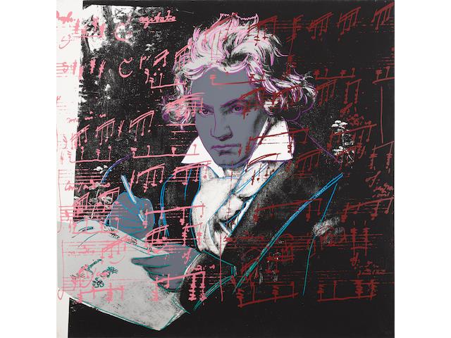 Andy Warhol (1928-1987); Beethoven;