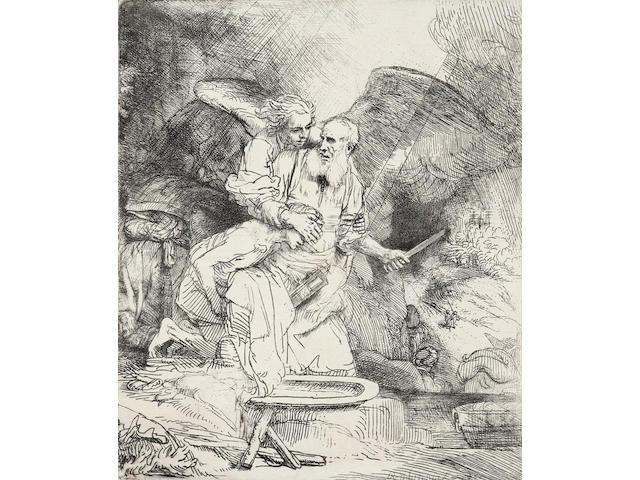 Rembrandt Harmensz van Rijn (1606-1669); Abraham's Sacrifice;