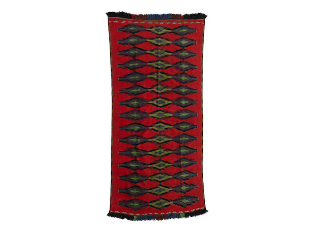 A large Navajo Germantown Rio Grande-style weaving