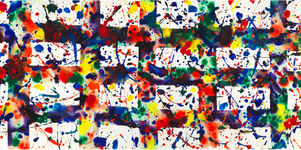 SAM FRANCIS (1923-1994) SF78-242 Los Angeles, 1978