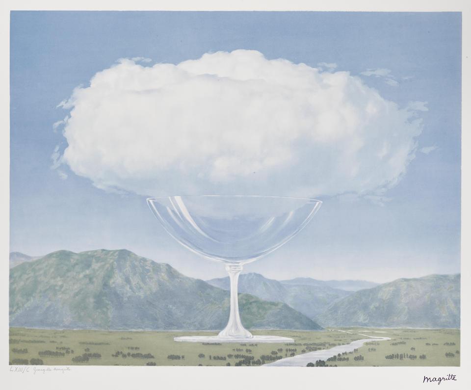 Bonhams After Rene Magritte 1898 1967 Le Philosophie Et La Peinture De Rene Magritte