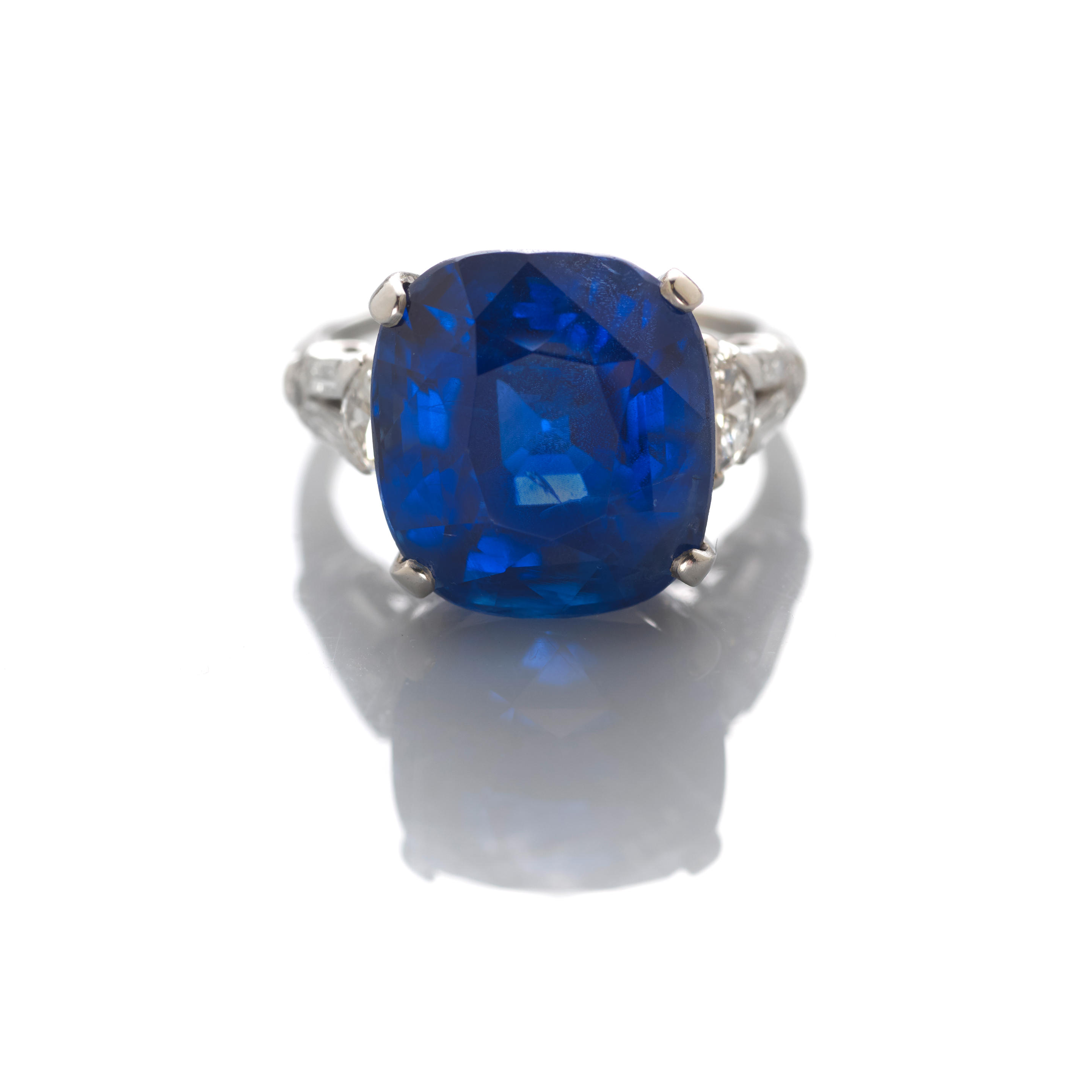 Fine Sapphire and Diamond Ring by J. E. CALDWELL & CO.