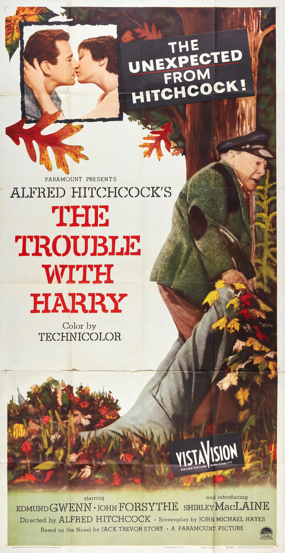 The Trouble With Harry and The Wrong Man