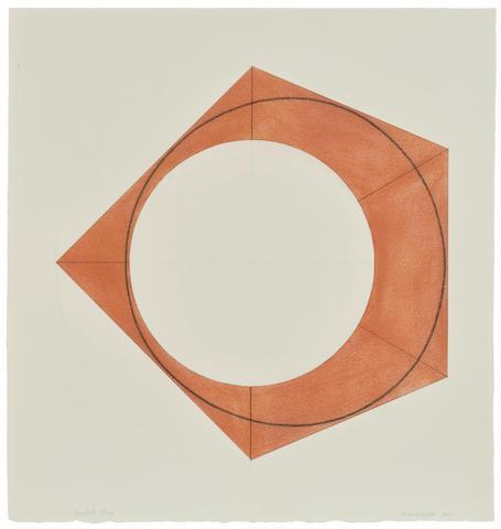 Robert Mangold (American, born 1937) Angled Ring 2011
