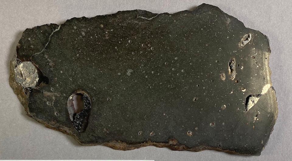 Chico Meteorite – Complete Slice