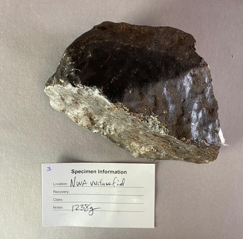 Unclassified Stony Meteorite from Northwest Africa – Complete Individual