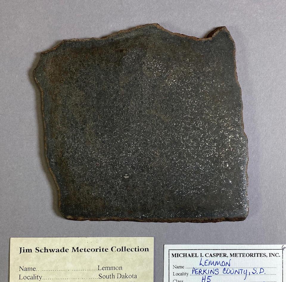 Lemmon Meteorite – Complete Slice