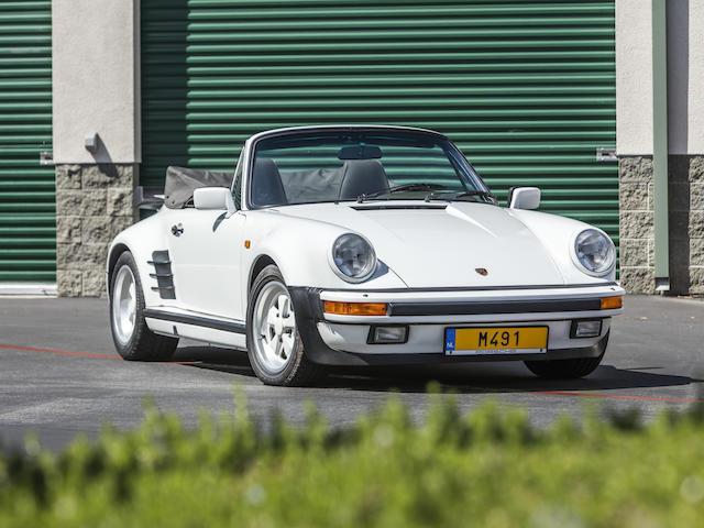<b>1986 Porsche 911 Carrera 3.2 'M491' Cabriolet</b><br />  VIN: WP0ZZZ91ZGS151064 <br />Engine no. 63G03164
