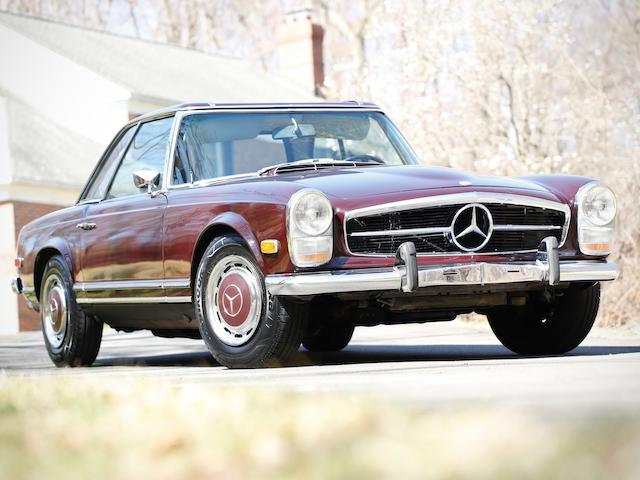 <b>1969 Mercedes-Benz 280SL</b><br />Chassis no. 113.044-12-004824, Engine no. 130983-12-002924