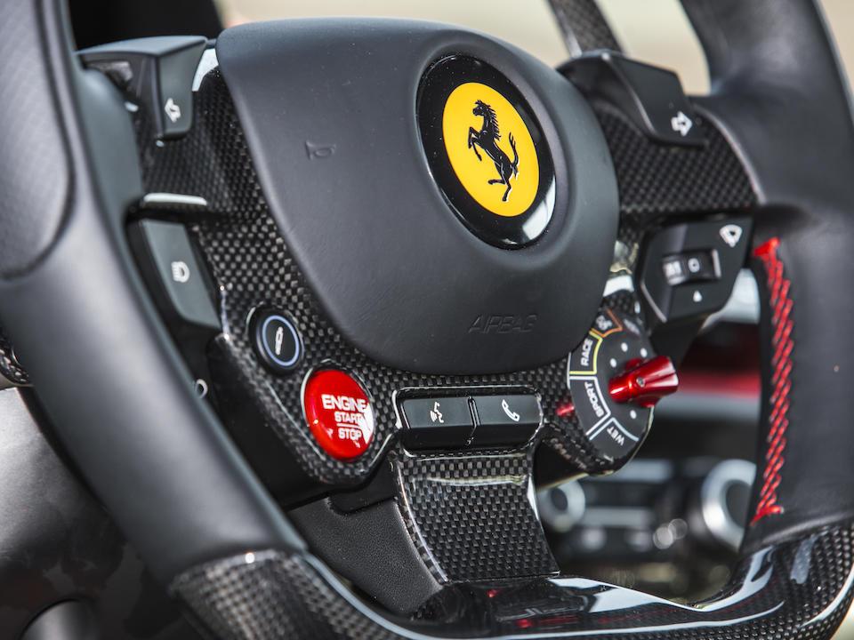 <b>2018 Ferrari  812 Superfast </b><br /> Chassis no. ZFF83CLA4J0233155 <br />Engine no. 233155
