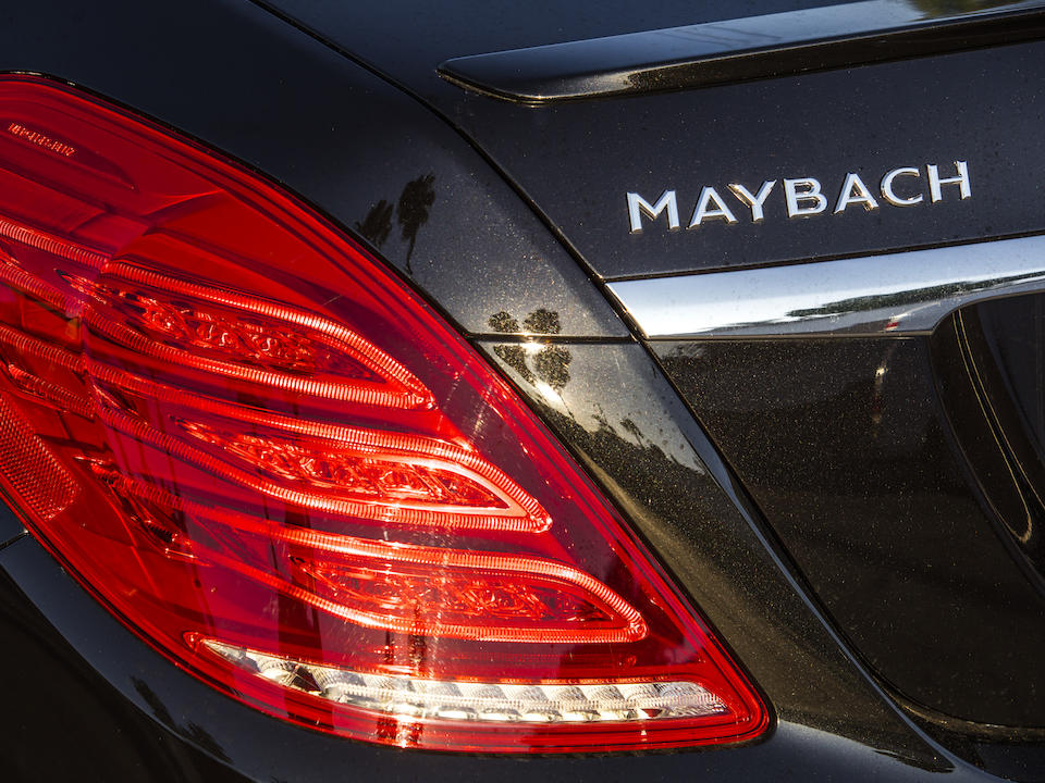 <b>2017 Mercedes-Maybach S550</b><br /> VIN: WDDUX8FB2HA294601
