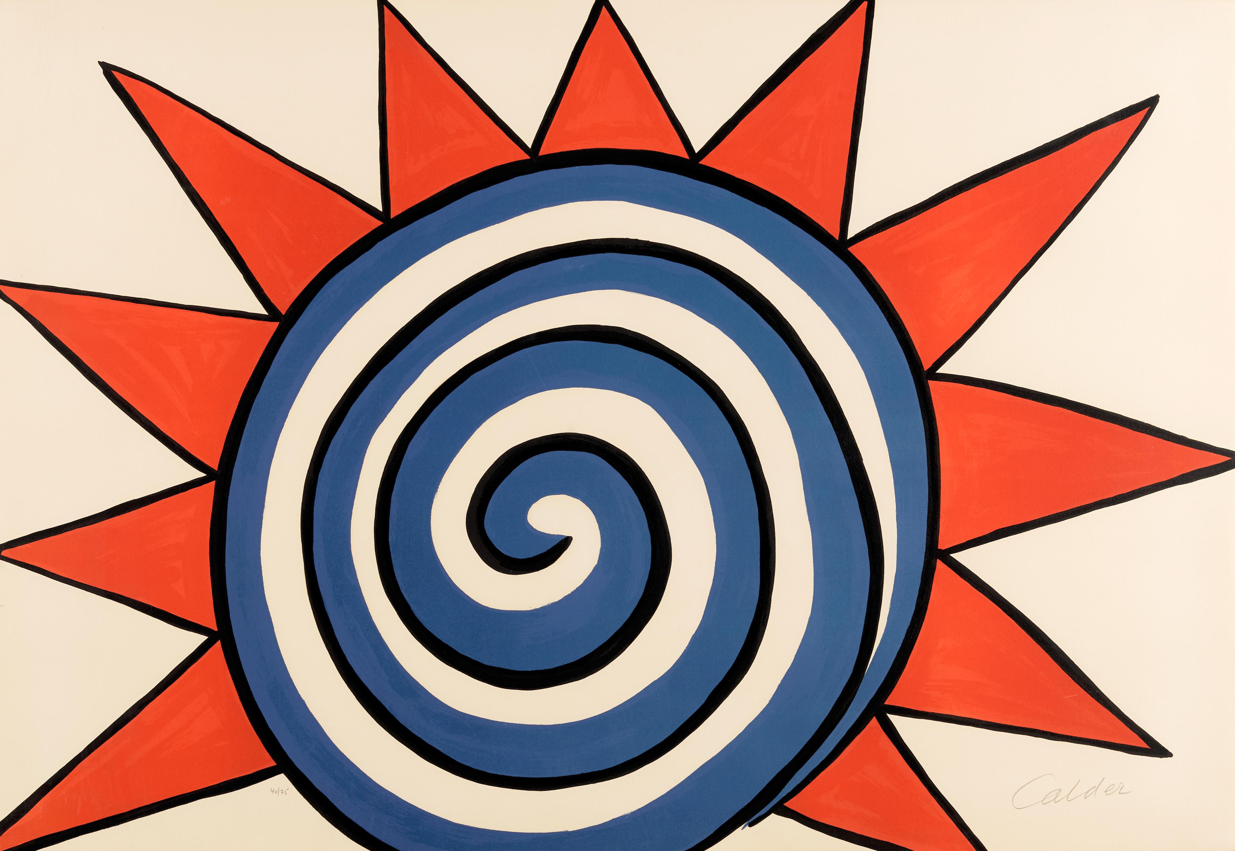 Alexander Calder (1898-1976); Red, White and Blue Sun;