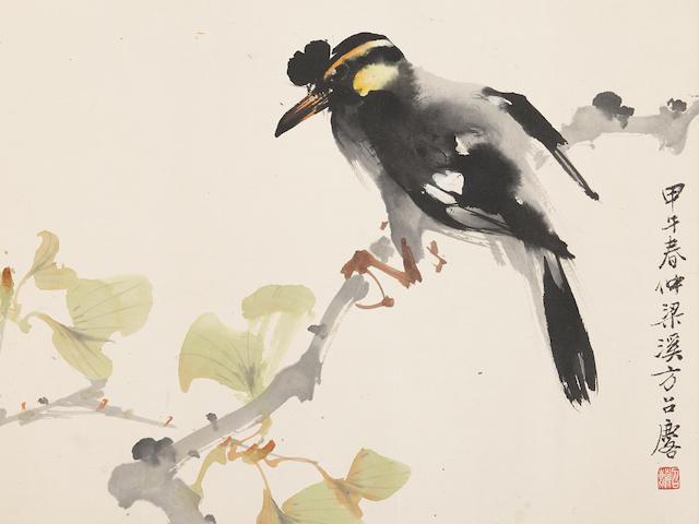 Fang Zhaolin (1914-2006) Eight paintings (8)