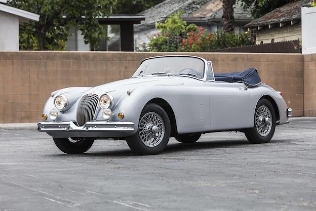 <b>1959 Jaguar XK150 3.4 Drophead Coupe</b><br />  Chassis no. S838310DN <br />Engine no. V-7096-9
