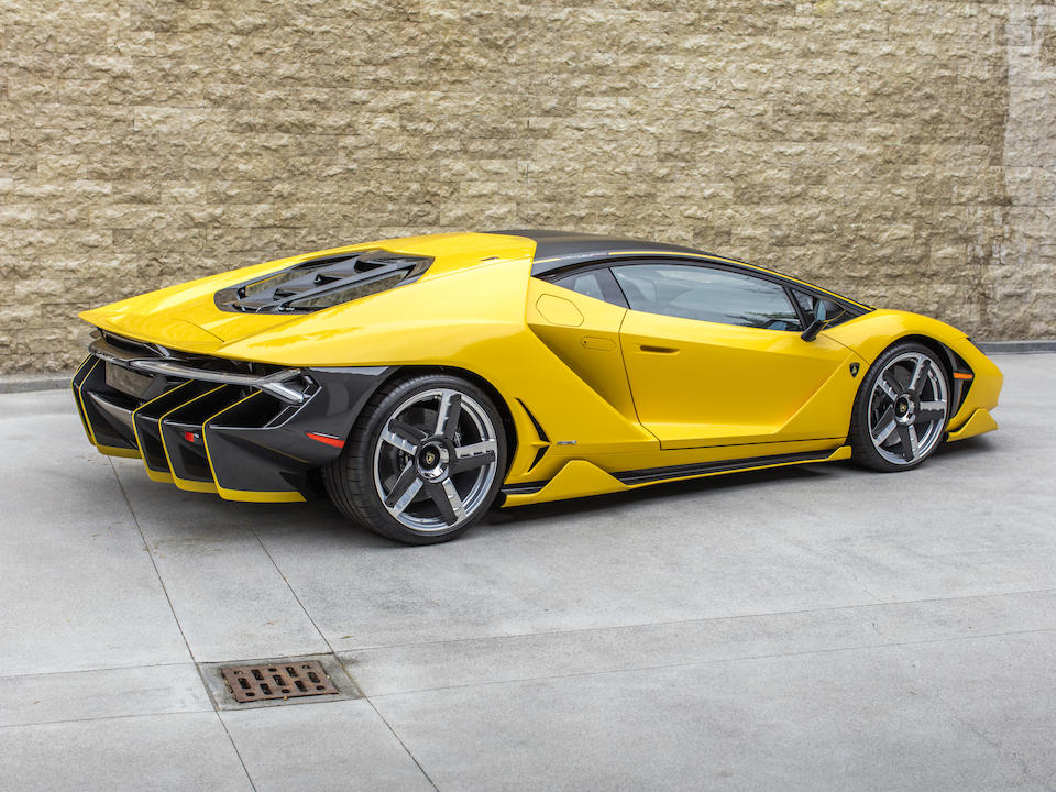 <b>2017 Lamborghini Centenario Coupe</b>