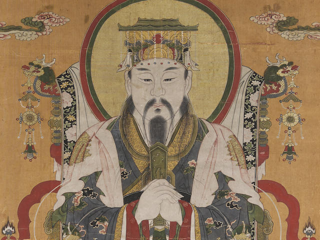 Anonymous (17th/18th century)  Painting of a Daoist Deity