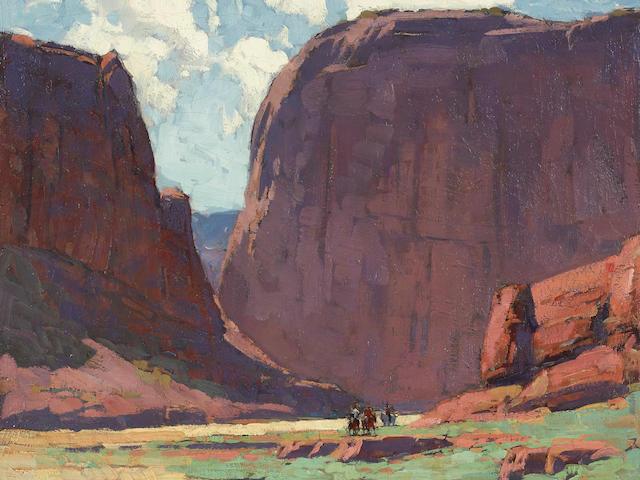 Edgar Payne (1883-1947) Canyon de Chelly 20 x 24in framed 28 x 31in