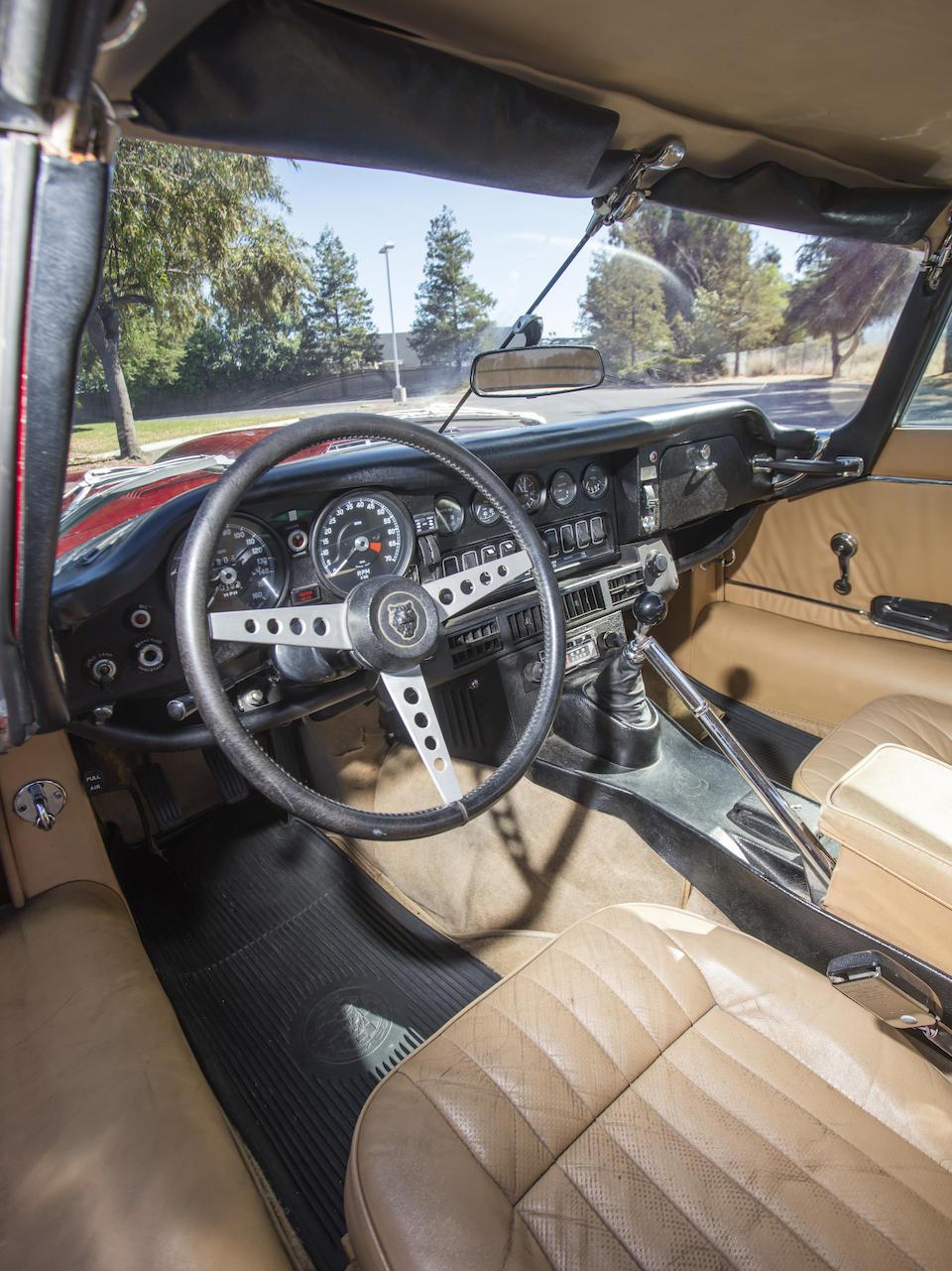 <b>1973 Jaguar E-TYPE SERIES III V12 ROADSTER</b><br />  Chassis no. UE1S23571 <br />Engine no. 7S14013LA