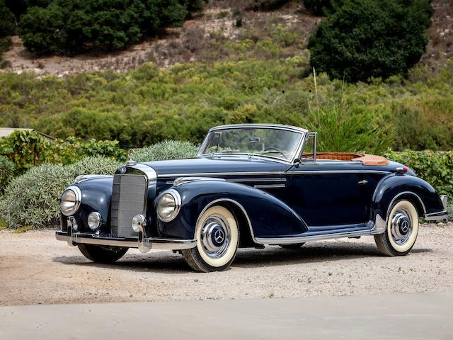 1956 Mercedes-Benz 300SC Roadster  Chassis no. 188.015.6500069 Engine no. 188.015.6500069