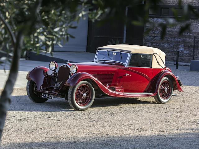 1934 ALFA ROMEO  8C 2300 CABRIOLET DÉCAPOTABLE   Chassis no. 2311239 Engine no. 2311239