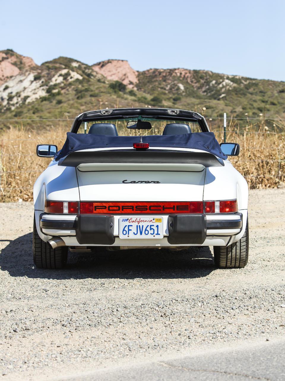 <b>1986 PORSCHE 911 CARRERA 3.2 CABRIOLET</b><br />  VIN. WP0EB091XGS171915 <br />Engine no. 64G07280
