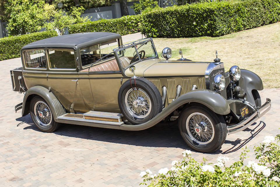 <b>1929 Mercedes-Benz Model 630 K Town Car</b><br />Chassis no. 36278 <br />Engine no. 78662