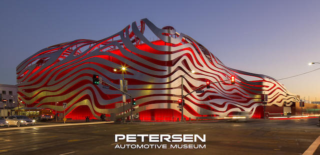 Petersen Automotive Museum Vault Tour and Private Test Drive