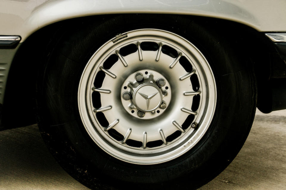 <b>1979 Mercedes Benz SLC 5.0 Lightweight Homologation Coupe</b><br />  Chassis no. 107 026 12 01107 <br />Engine no. 117 960 12 001097