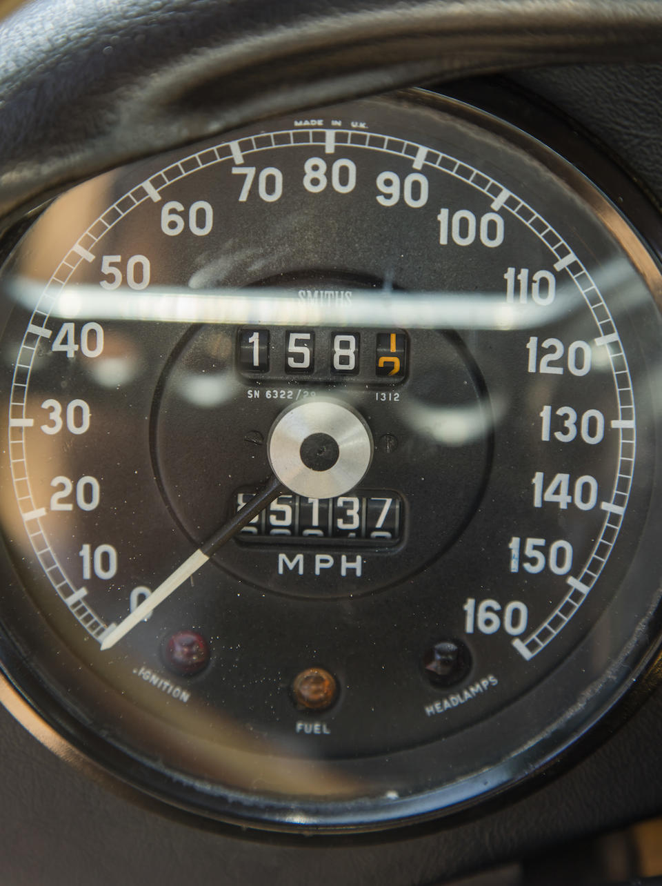 <b>1966 JAGUAR E-TYPE SERIES I 4.2 FIXED HEAD COUPE</b><br />  Chassis no. 1E33710 <br />Engine no. 7E10728-9