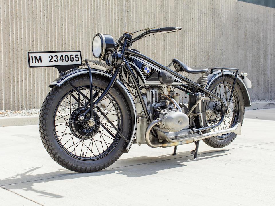 1928 BMW R57 Frame no. 22953 Engine no. 70393