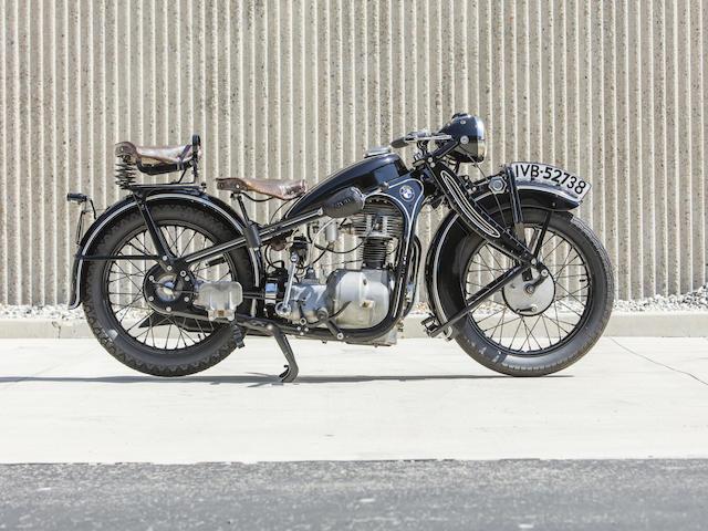 1933 BMW R4 Frame no. P88554 Engine no. 84321