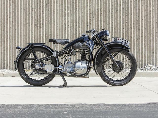 1938 BMW R35 Frame no. 495327 Engine no. 3153790