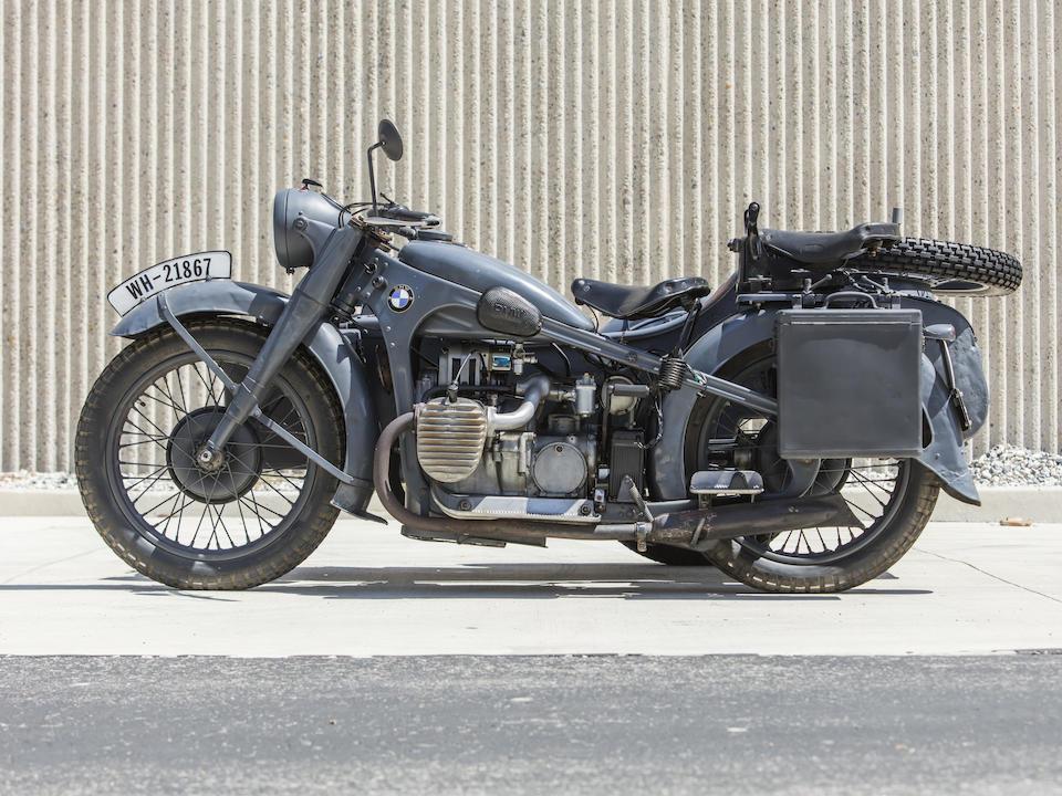 1937 BMW R12 with Steib Frame no. 18250 Engine no. 3089