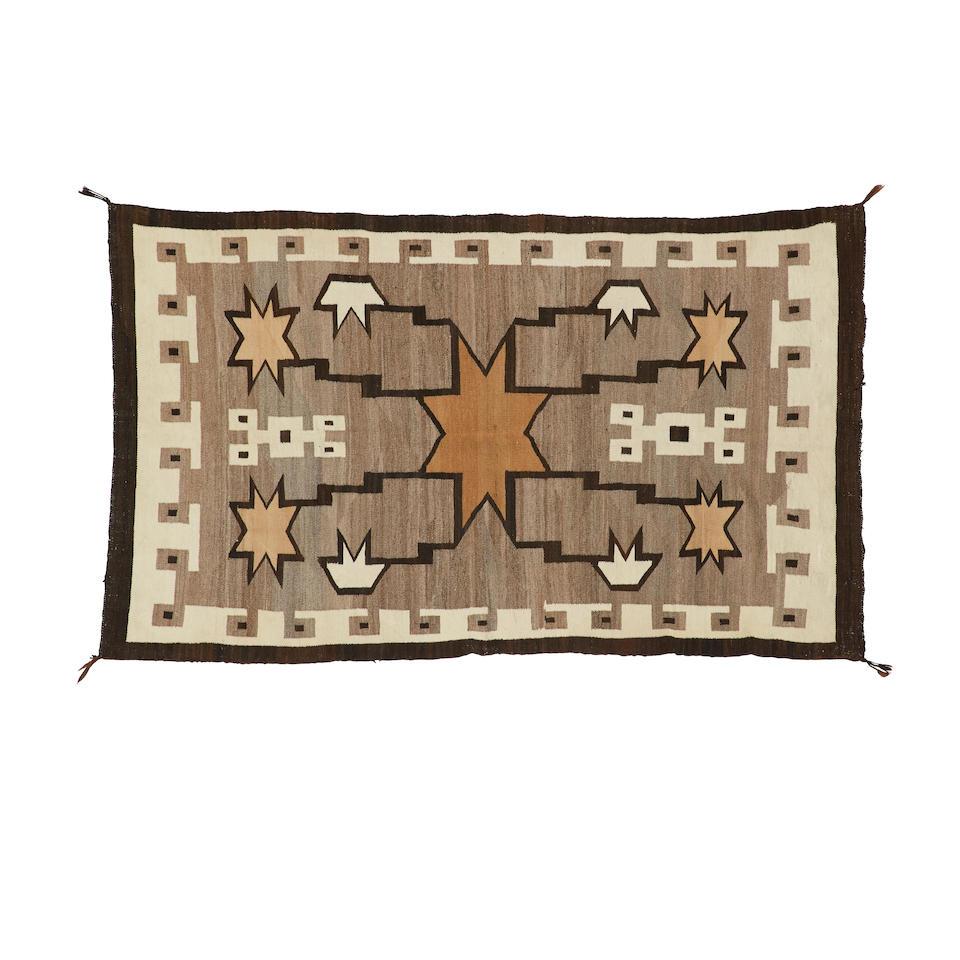 A Navajo Crystal rug