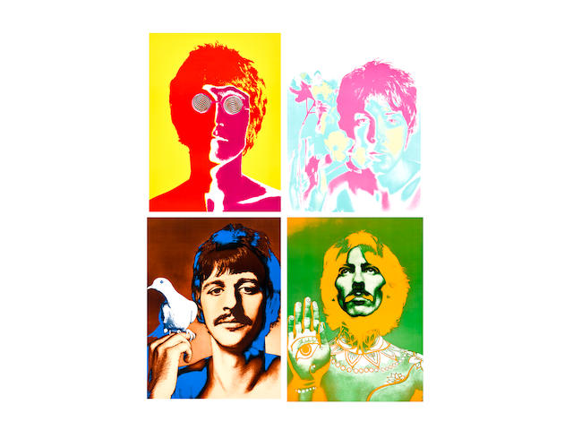 Richard Avedon (1923-2004); The Beatles;