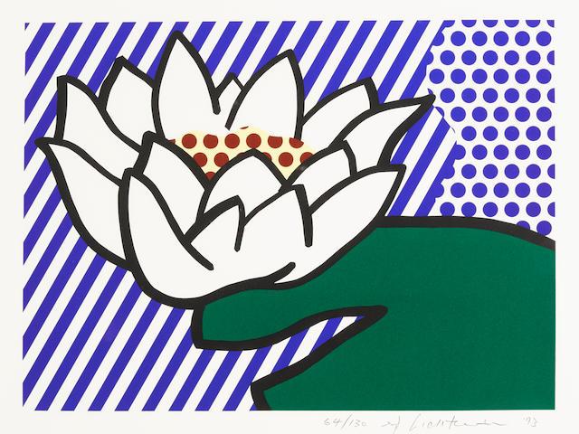 Roy Lichtenstein (1923-1997); Water Lily;