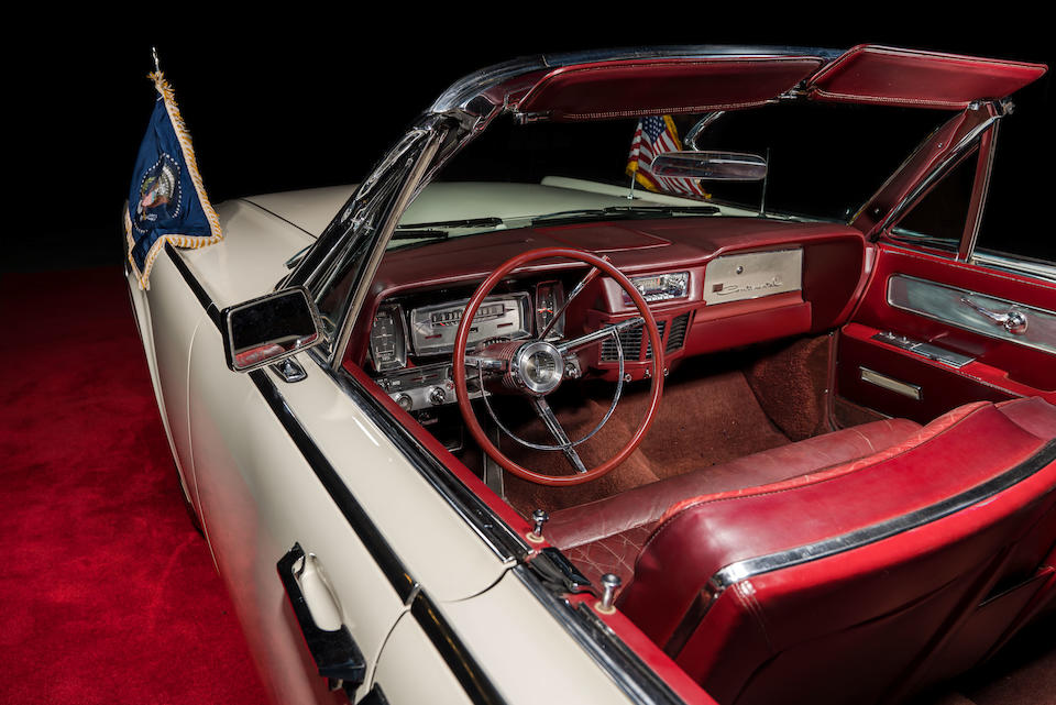 1963 Lincoln Continental Convertible Sedan, Chassis no. 3Y86N409953