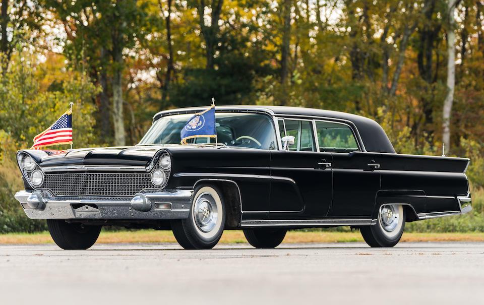 Bonhams 1960 Lincoln Continental Mark V Executive Limousine Chassis No 0y99h412585