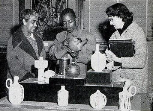 Benedict Chukwukadibia Enwonwu M.B.E (Nigerian, 1917-1994) Hausa Girl