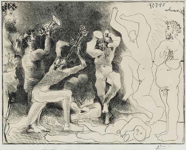 Pablo Picasso (1881-1973); La danse des Faunes;
