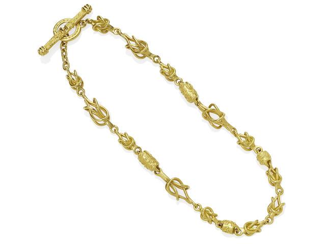 Denise Roberge: Gold Link Necklace
