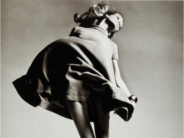 Richard Avedon (1923-2004); Veruschka, Dress by Bill Blass, New York Studio;