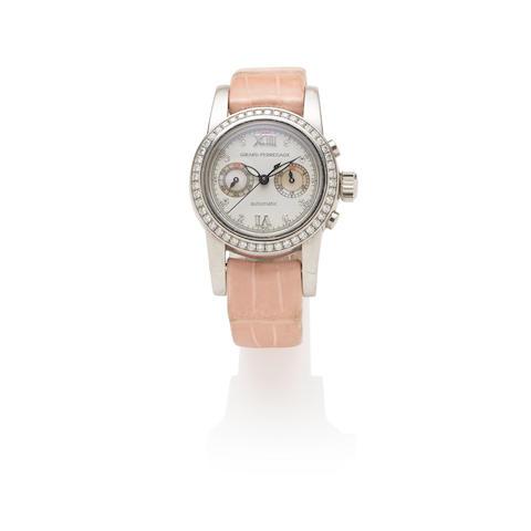 Girard-Perregaux: Stainless Steel and Diamond Chronograph Wristwatch