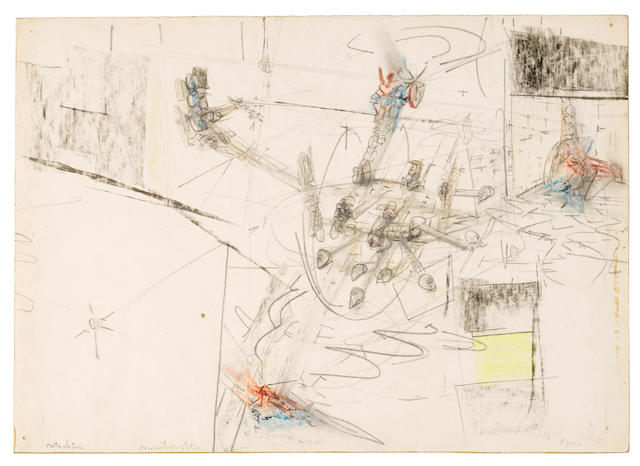 Roberto Matta (Chilean-French, 1911-2002) Untitled 1948