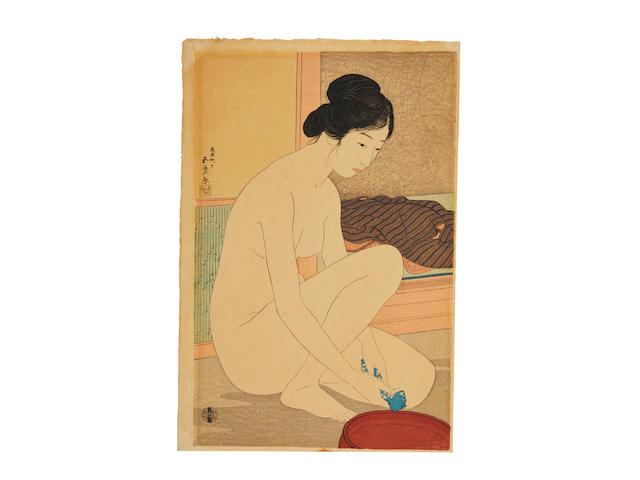 HASHIGUCHI GOYO (1881-1921) Taisho era (1912-1926), 1915